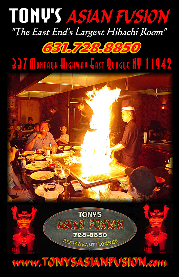 tonys asian fusion menu